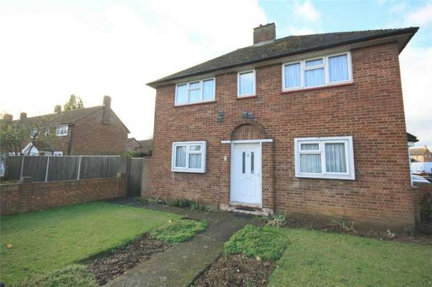 3 Bedrooms End Of Terrace House for sale in Clare Road, Stanwell, Staines-upon-Thames, Surrey