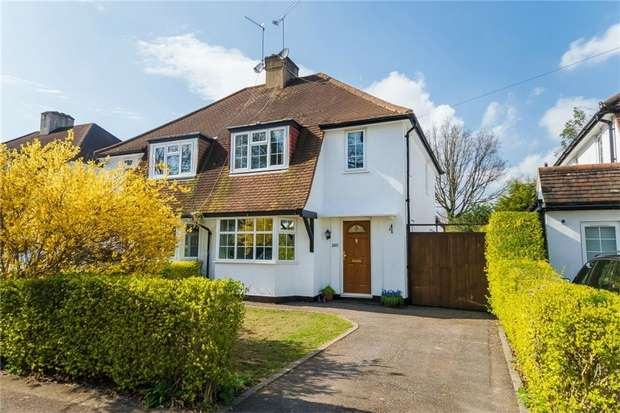3 Bedrooms Semi Detached House for sale in Church Road, Iver Heath, Buckinghamshire