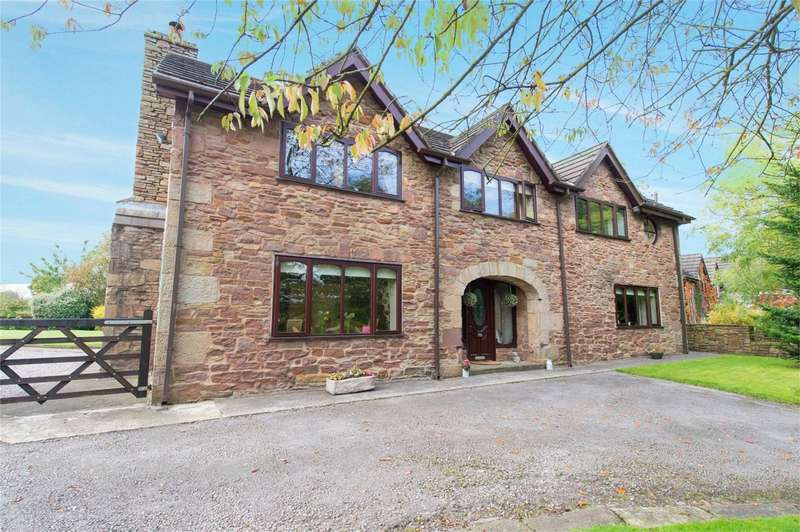 4 Bedrooms Detached House for sale in Preston Road, Charnock Richard, Chorley, Lancashire
