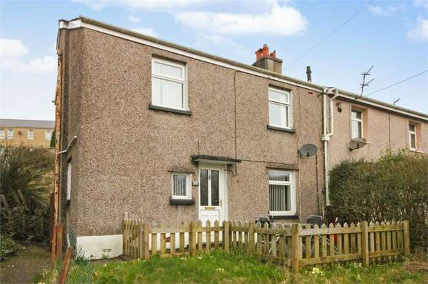 3 Bedrooms Semi Detached House for sale in Bridgend Road, Llangynwyd, Maesteg, Mid Glamorgan