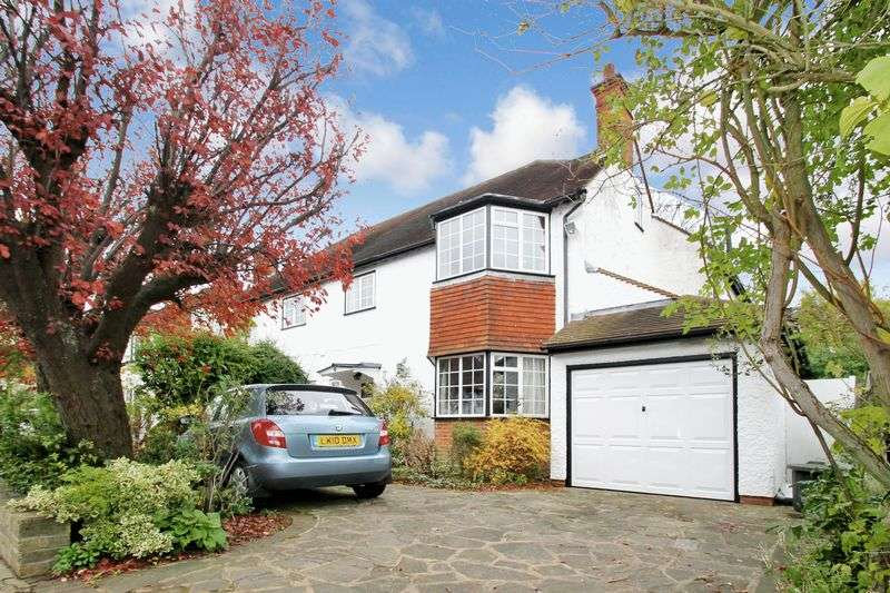 4 Bedrooms Semi Detached House for sale in Morford Way, Eastcote, Middlesex