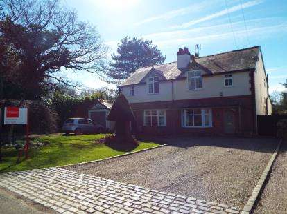 3 Bedrooms Semi Detached House for sale in Trouthall Lane, Plumley, Knutsford, Cheshire