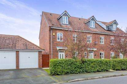 4 Bedrooms End Of Terrace House for sale in Abbey Park Way, Weston, Crewe, Cheshire
