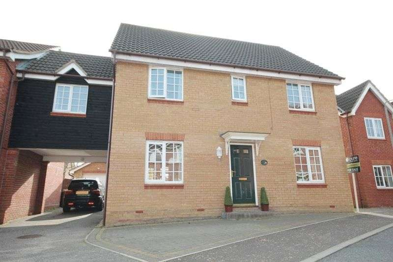 5 Bedrooms Detached House for sale in Cornet Close, Norwich