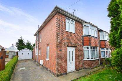 3 Bedrooms Semi Detached House for sale in Melbourne Street, Mansfield Woodhouse, Mansfield, Nottinghamshire