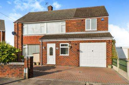 4 Bedrooms Detached House for sale in Chancery Close, Sutton-In-Ashfield, Nottinghamshire, Notts