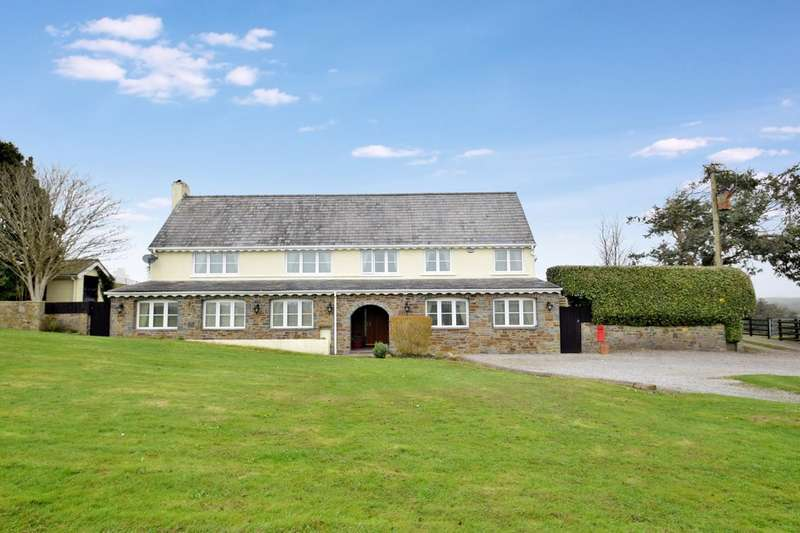 5 Bedrooms Detached House for sale in The Ploryn, Kenfig Burrows, Bridgend, Bridgend County Borough, CF33 4AG.