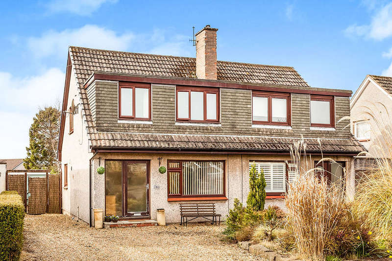 3 Bedrooms Semi Detached House for sale in Oakbank Road, Perth, PH1