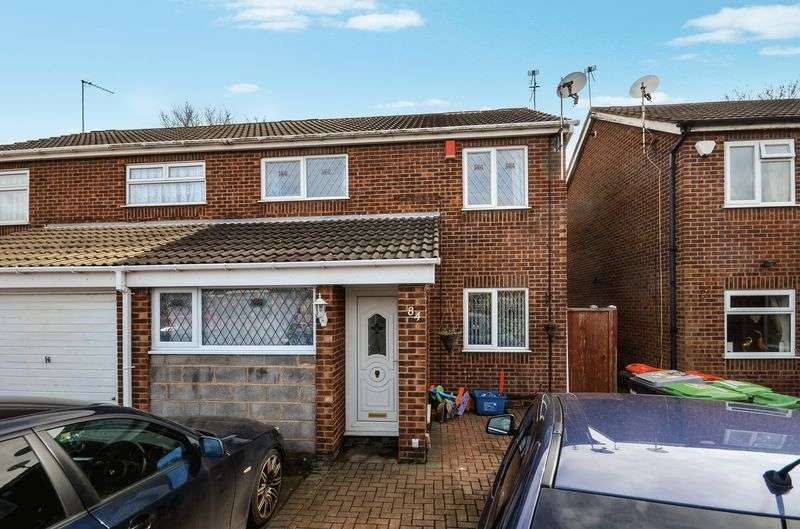 3 Bedrooms Semi Detached House for sale in 84 Christchurch Road, Hucknall, Nottingham, NG15 6SB