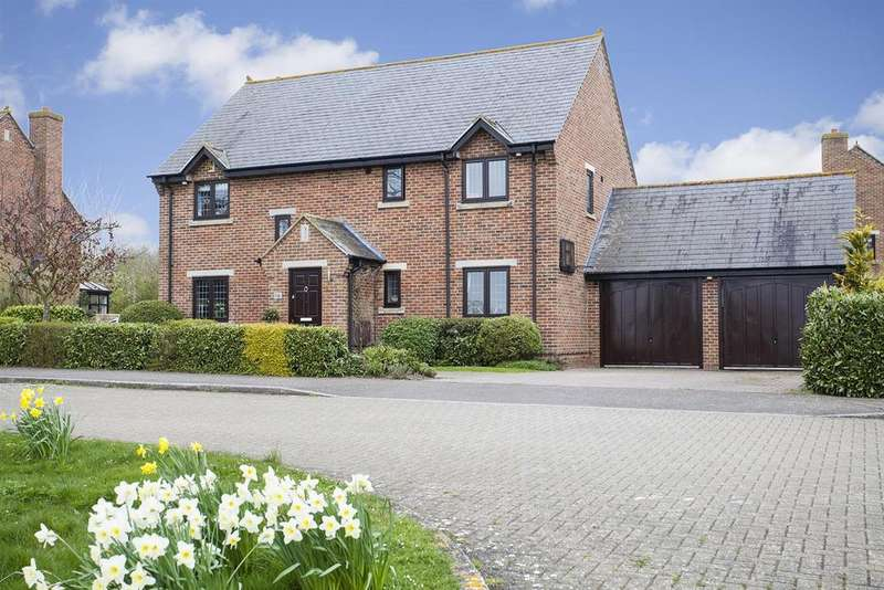 5 Bedrooms Detached House for sale in Lodge Farm Court, Castlethorpe, Milton Keynes