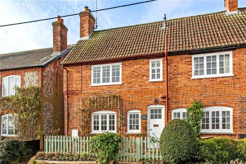 3 Bedrooms Semi Detached House for sale in Hurstbourne Priors, Whitchurch, Hampshire, RG28