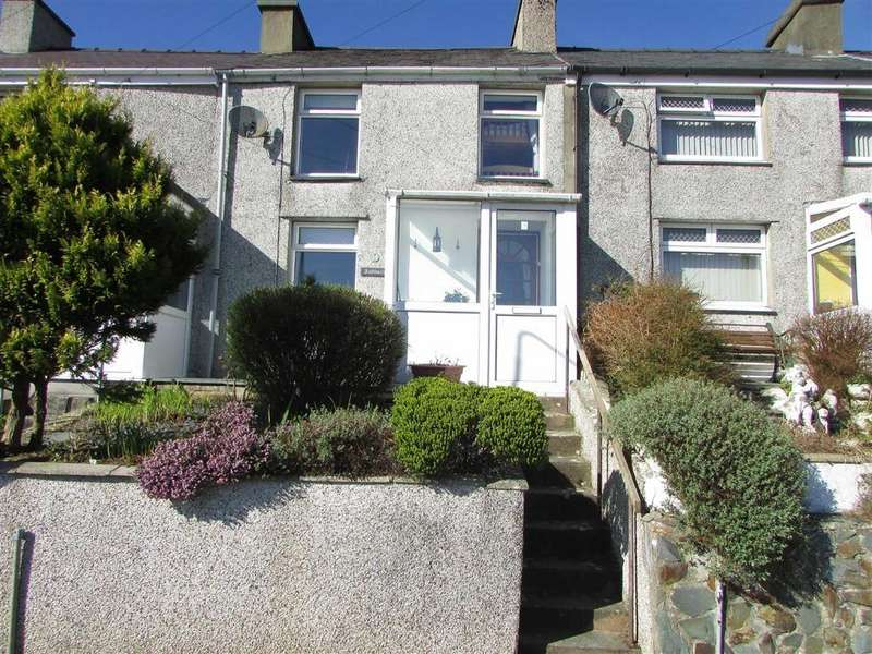 2 Bedrooms Terraced House for sale in Hyfrydle Road, Talysarn, Gwynedd