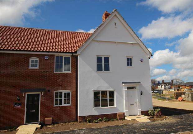 3 Bedrooms Terraced House for sale in Mulberry Grove, North Walsham, Norwich