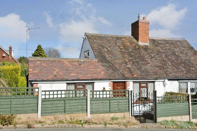 2 Bedrooms Semi Detached Bungalow for sale in Cottage Lane, Burntwood
