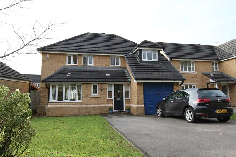 4 Bedrooms Detached House for sale in Dewberry Grove, Rogerstone, Newport