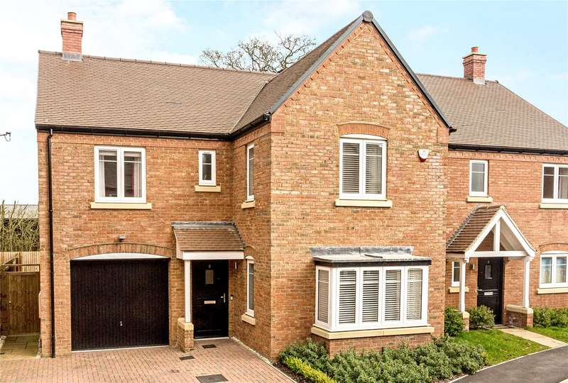 4 Bedrooms Detached House for sale in Merlin Close, Bodicote, Banbury, Oxfordshire, OX15