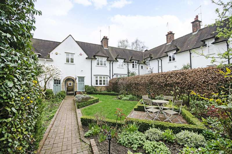 2 Bedrooms House for sale in Creswick Walk, Hampstead Garden Suburb, NW11