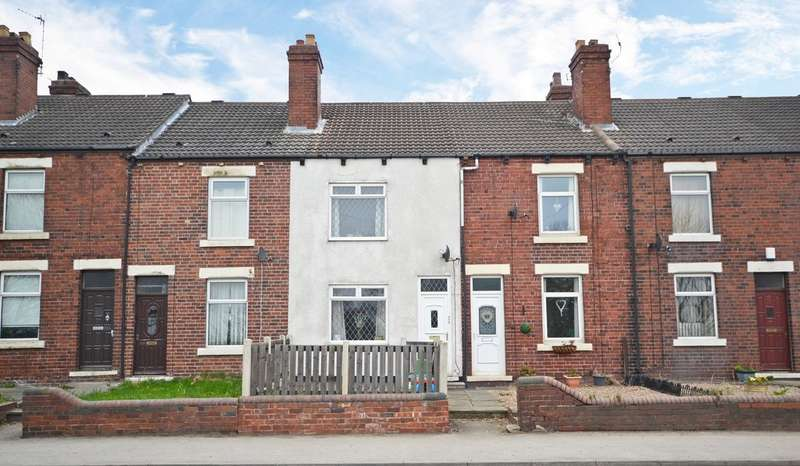 2 Bedrooms Terraced House for sale in Doncaster Road, Crofton, Wakefield