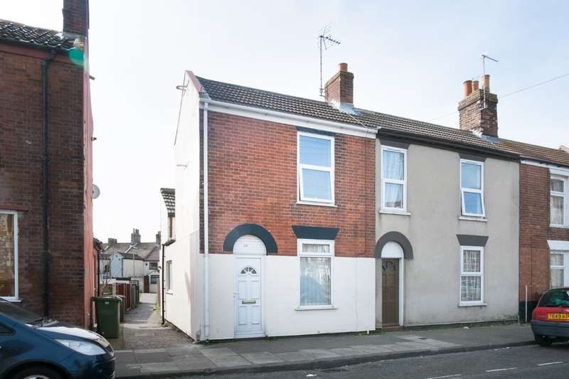 2 Bedrooms End Of Terrace House for sale in Lancaster Road, Great Yarmouth