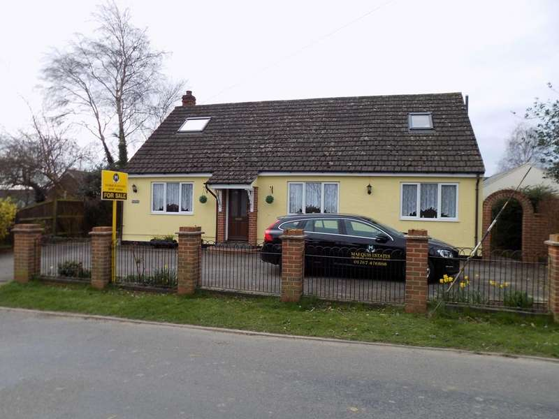 5 Bedrooms Detached Bungalow for sale in Church Green, Little Yeldham CO9