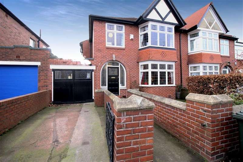 3 Bedrooms Semi Detached House for sale in Heaton Road, Newcastle Upon Tyne, NE6