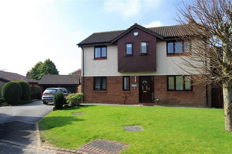 5 Bedrooms Detached House for sale in 12, Partridge Close, Bamford, Rochdale, OL11