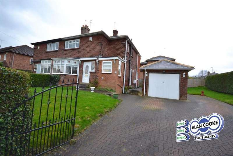 3 Bedrooms Semi Detached House for sale in Primley Park Lane, Alwoodley, Leeds