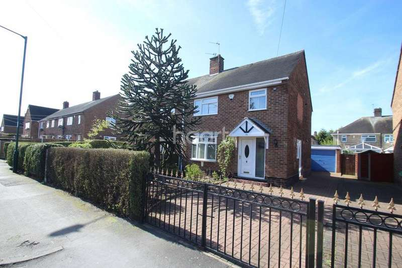 3 Bedrooms Semi Detached House for sale in Pastures Avenue, Clifton, Nottinghamshire