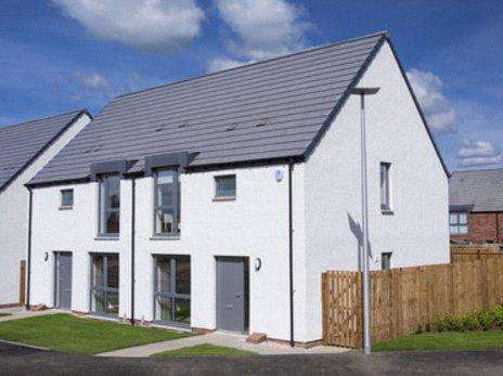 3 Bedrooms Terraced House for sale in Plot 109, The Bonaly, Wester Lea, 1 Wester Suttieslea Gardens, Newtongrange, Dalkeith