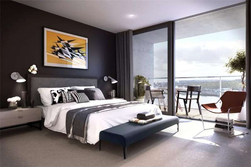 2 Bedrooms Flat for sale in Royal Wharf, London, E16