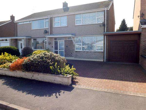 3 Bedrooms Semi Detached House for sale in South View, Whitwell, Worksop