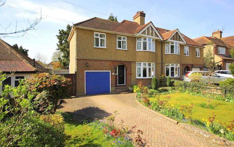 3 Bedrooms Semi Detached House for sale in 3 DOUBLE BEDROOM WITH 70` GARDEN IN Green End Road, BOXMOOR, HP1