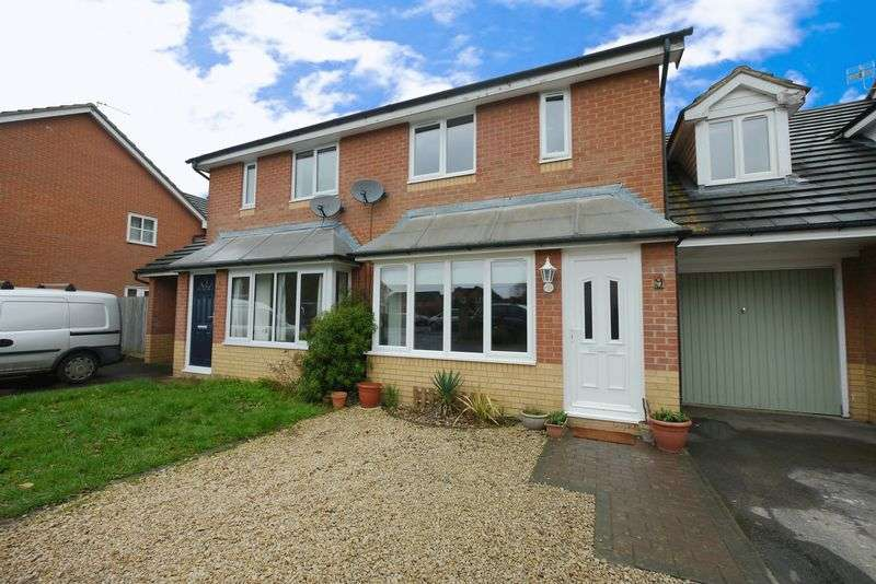 3 Bedrooms Semi Detached House for sale in JORDAN CLOSE, DIDCOT