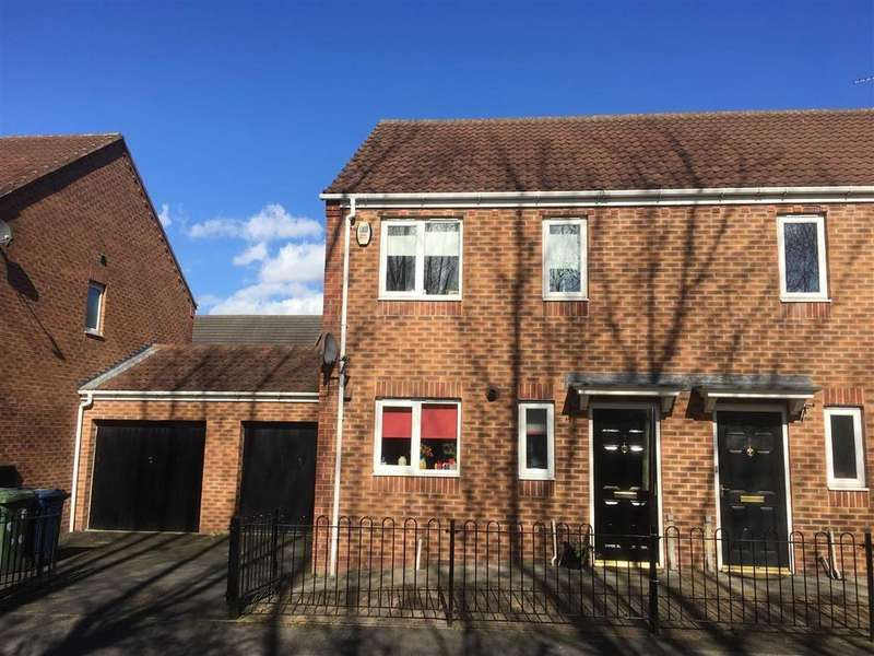 3 Bedrooms Semi Detached House for sale in Abbeyfield Close, Gateshead, Dunston, Tyne And Wear