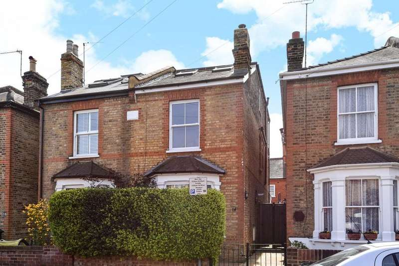 5 Bedrooms Semi Detached House for sale in Hardman Road, Kingston upon Thames, KT2