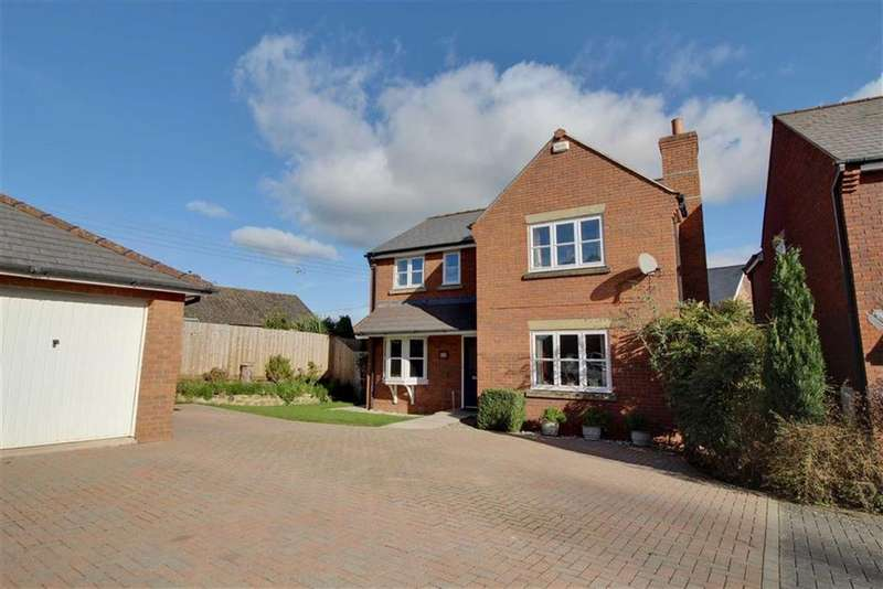 4 Bedrooms Detached House for sale in Brookside, Newent, Gloucestershire