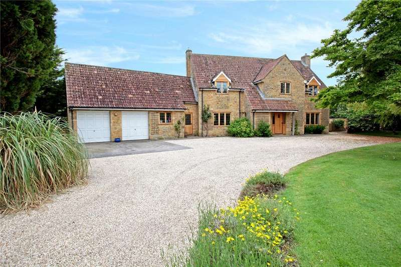 4 Bedrooms Detached House for sale in West Lambrook, South Petherton, Somerset