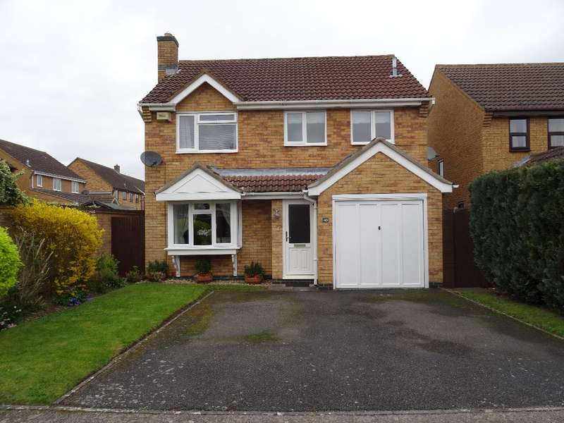 4 Bedrooms Detached House for sale in HOLLOW WOOD, OLNEY