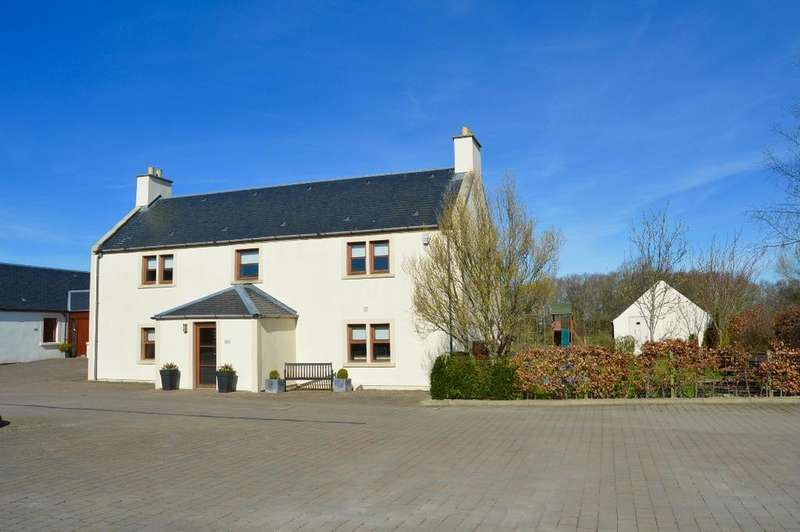 4 Bedrooms Farm House Character Property for sale in Barclaugh Farmhouse, By Coylton, Ayrshire, KA6 6LU