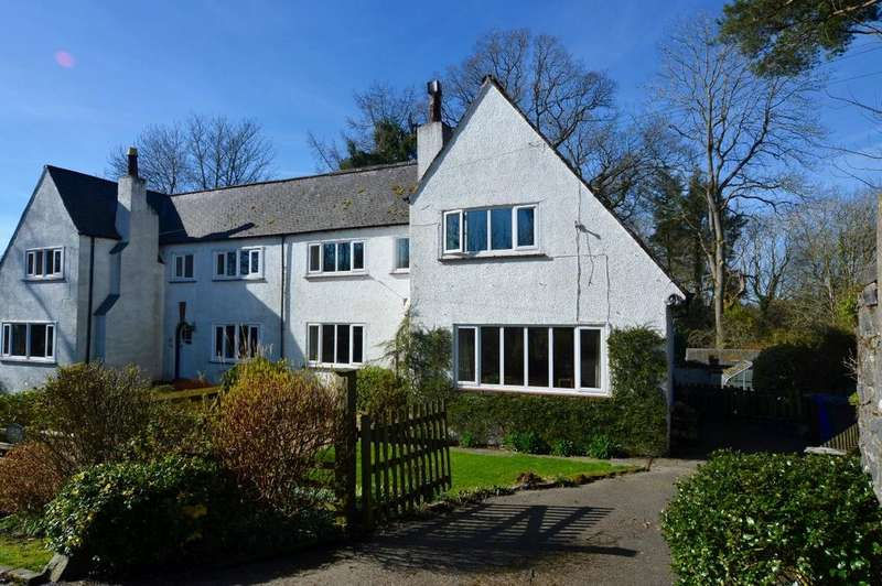 3 Bedrooms Semi Detached House for sale in Gardens Cottage, Hollybush, Ayrshire, KA6 7EA