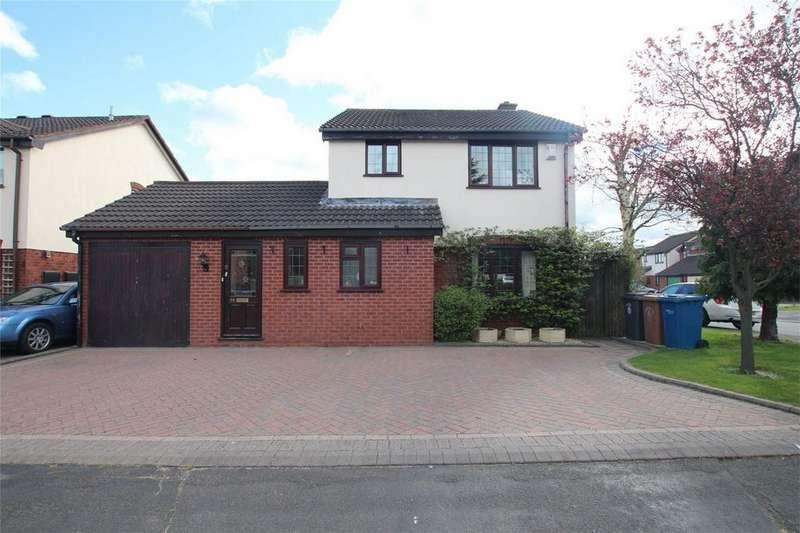 4 Bedrooms Detached House for sale in Haymoor, Lichfield, Staffordshire