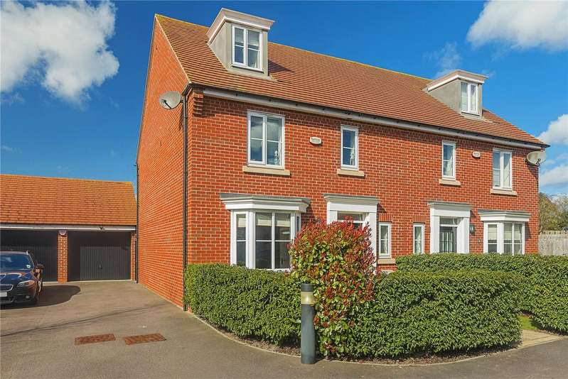 4 Bedrooms Semi Detached House for sale in Ox Meadow, Bottisham, Cambridge, CB25