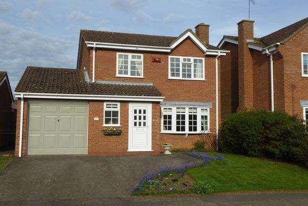 4 Bedrooms Detached House for sale in Rosemoor Drive, East Hunsbury, Northampton, NN4
