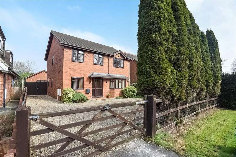 4 Bedrooms Detached House for sale in Reading Road, Chineham, Basingstoke, RG24