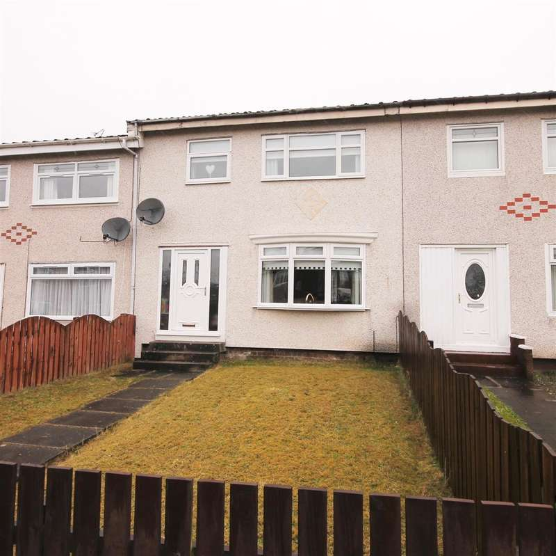 3 Bedrooms Terraced House for sale in Dalveen Quadrant, Coatbridge