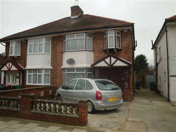 3 Bedrooms Semi Detached House for sale in Milford Gardens, Edgware