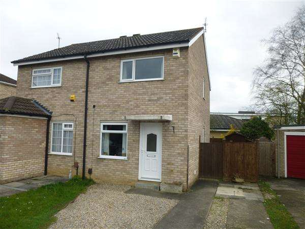 2 Bedrooms Semi Detached House for sale in Troutbeck, Woodthorpe, York