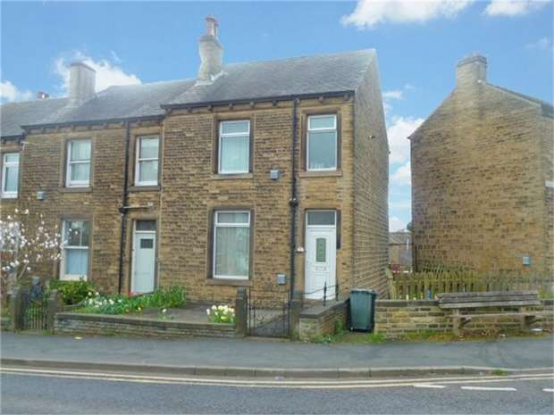3 Bedrooms End Of Terrace House for sale in Spaines Road, Huddersfield, West Yorkshire