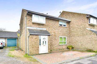 3 Bedrooms End Of Terrace House for sale in Favell Drive, Furzton, Milton Keynes