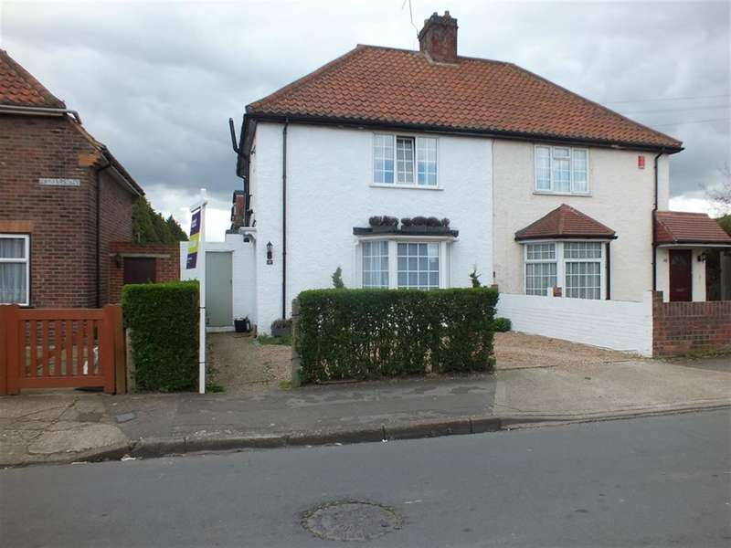 3 Bedrooms Semi Detached House for sale in Showers Way, Hayes, Middlesex, UB3 3JY